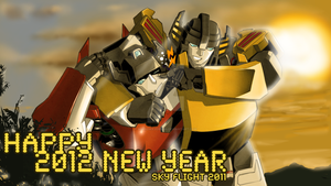 Happy 2012 New Year by SoundWaver1984