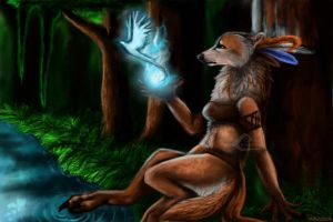 The Lifeblood of the Forest by Randomznez