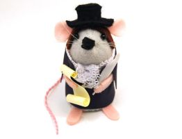 Robert Burns Mouse by The-House-of-Mouse