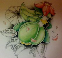 Petal Dance Lilligant!! by Adolessence