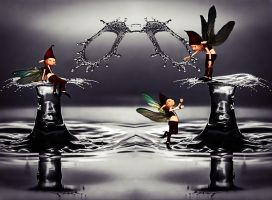 the water droplets Game by poisen2014