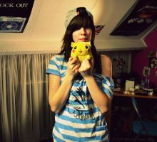I found my pikachu again! :D by MollyMotions
