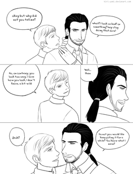 Minicomic-Richartin-ponytail-part 2 by Kiri-Yami