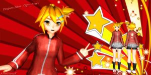 [MMD] Project Diva Extended Gym Neru by AkitaNeruxX