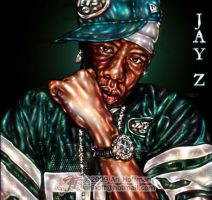 Jay Z... Art Work by arihoff