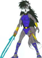 Saber Wielder Lupe - Colored by dragonheart07