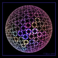 Spinning Disks Orb by Colliemom