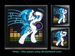12 x 12 Vinyl Scratch by The-Paper-Pony