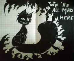 cheshire cat by waterlily5