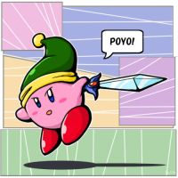 Comic Kirby by Sirometa