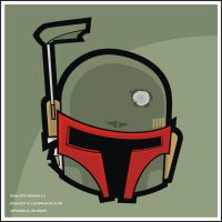 Heads Up Boba Fett 2.0 by HeadsUpStudios