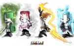 The Castle Crashers Knights by Arukun14