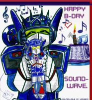 TF Happy Birthday Soundwave by Taiya001