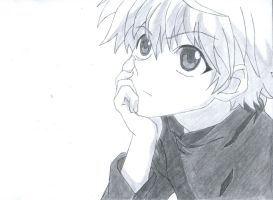 Killua by blackandawesome