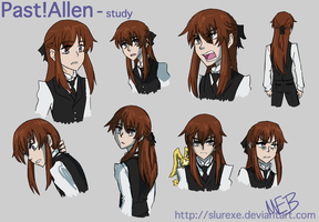 Past!Allen Study by SlurEXE