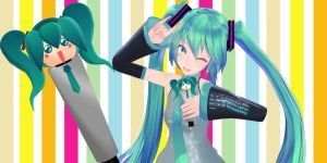 Miku mic - Download by YamiSweet