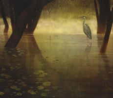 Heron by KevinNichols