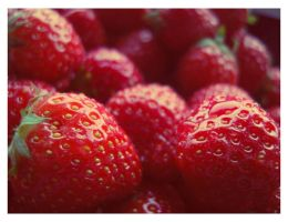 Summer Strawberries by Tuja
