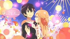Kirito feat Asuna by XxAjisai-GraphicxX
