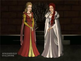 Game-of-Thrones-Azaleas-Dolls by JalEminess