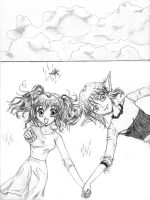 Cloud watching-Kishigo by dark-vampire111