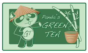 Panda's GREEN TEA by new-moon-night