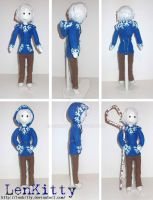 Jack Frost Doll by LenKitty