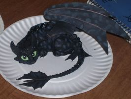 toothless clay model by firewhiskey77