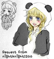 Panda SeeU coloured version by eddie3399