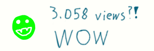 3,058 Page Viewes Wow by Rini2012