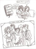 The Cullen Kids 1985 by SwissDutchess