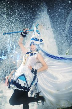 Snow Miku - Magical Time by vaxzone