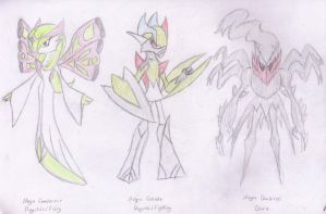 Mega Evolution Fan Ideas by Gallade95