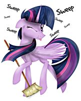 Sweep Sweep Sweep Twily by Cre8iveWing