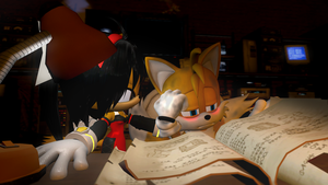 Come on Tails, you're working yourself too hard... by Nictrain123