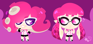Octo Squid by SakuraDraws