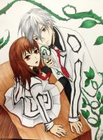 Yuuki and Zero- Vampire Knight by margeaux202