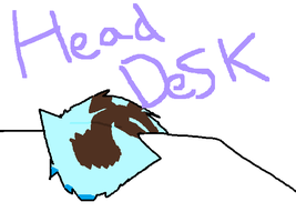 head desk by XxSugar-CloudxX