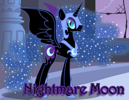 Nightmare Moon by Xain-Russell
