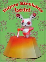 Happy Birthday, Lyrin by PaperBuff