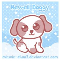 Kawaii Doggy by miemie-chan3