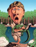 steve irwin crocodile hunter by stevesafir