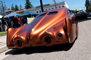 Golden State Custom Cadillac ~ Rear by SharkHarrington