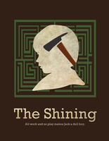 The Shining Poster by shelbybonilla