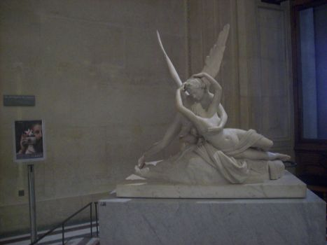 Psyche Revived by Cupid's Kiss by Spikeasaur