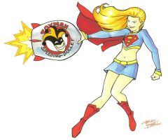 marker: Supergirl by KidNotorious