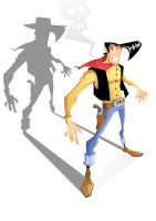 lucky luke by sukashippe