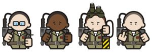 Ghostbusters by jhroberts