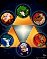 Day 27 - Six Sages by CelticMagician