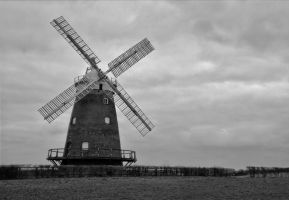 Thaxted Windmill by astrogoth13